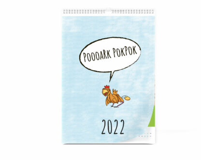 Wandkalender 2022 Poooark Pok Pok